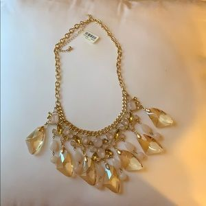 Torrid gold tone statement necklace